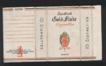 Collectible old English cigarette packet    C.W.S #535